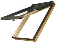 FAKRO阁楼天窗:上悬开启天窗,不一样的天窗