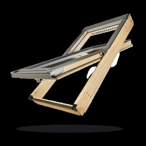 FAKRO斜屋顶天窗:中悬天窗FTP-V,FTP,FTE系列
