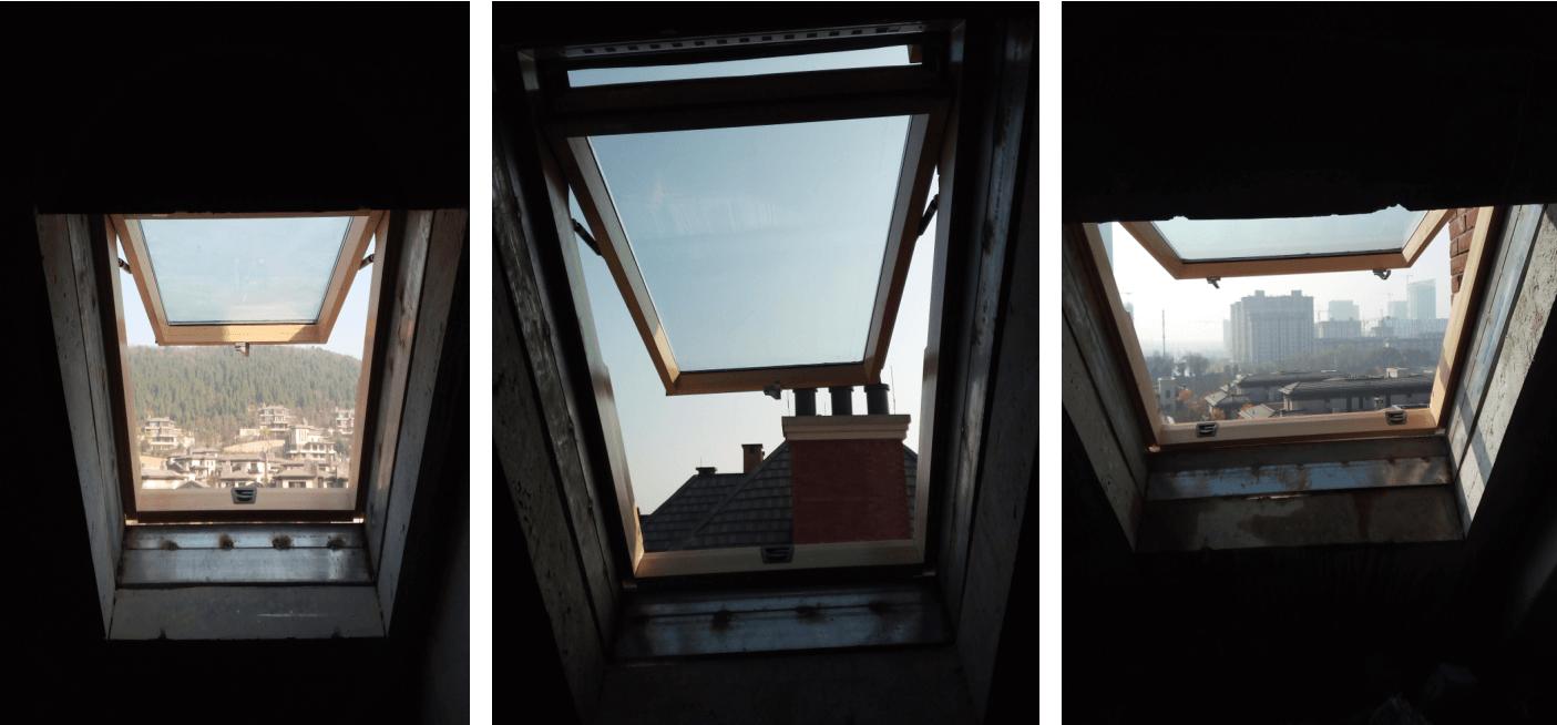 武汉阁楼天窗安装过程4