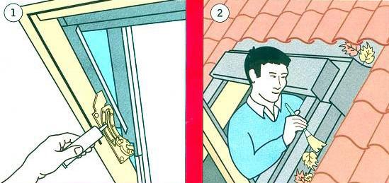 在广东安装屋顶天窗不知道怎么保养?【FAKRO法克罗斜屋顶天窗】