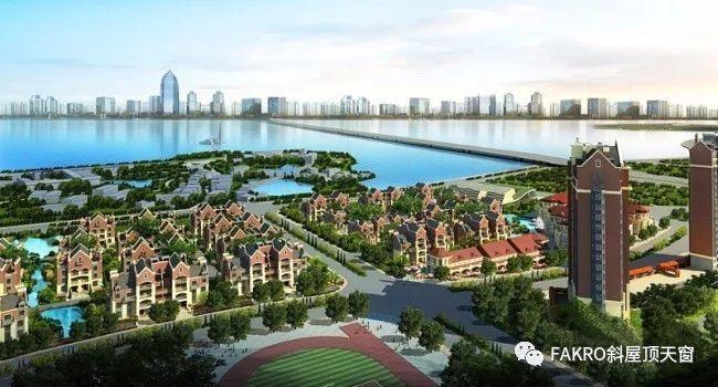 FAKRO法克罗天窗湖北武汉招商公园斜屋顶天窗安装案例