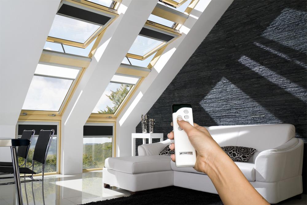 FAKRO智能电动控制天窗
