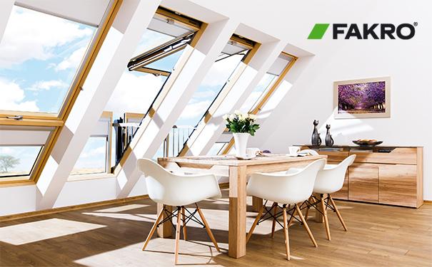 阁楼天窗 屋顶天窗安装 天窗漏水 FAKRO法克罗天窗