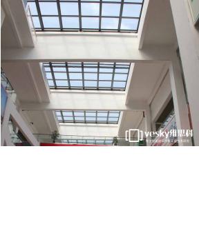 维思科商场开合屋顶(平移)