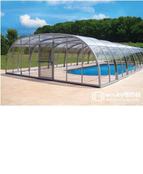 维思科游泳池开合屋顶(平移)