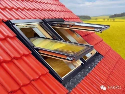 安装上悬天窗都有哪些性能呢?【FAKRO法克罗斜屋顶天窗】